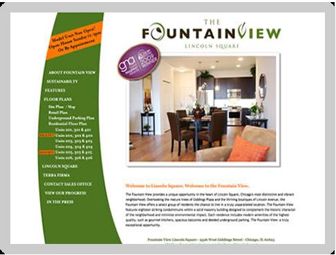 brochure website examples