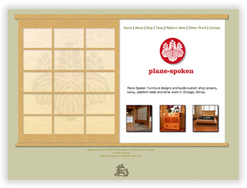 Plane-Spoken Custom Brochure Website in Chicago