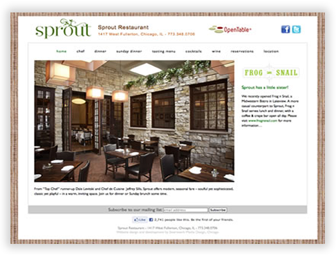 Sprout Restaurant in Chicago