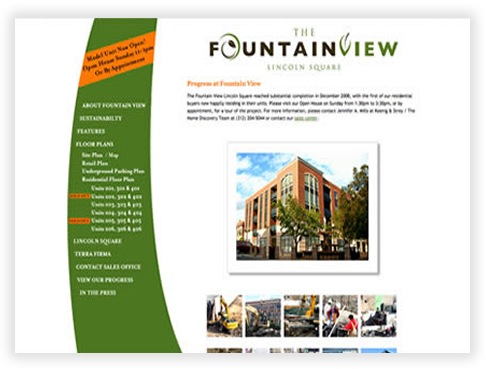 FountainView in Lincoln Square - Gallery Page