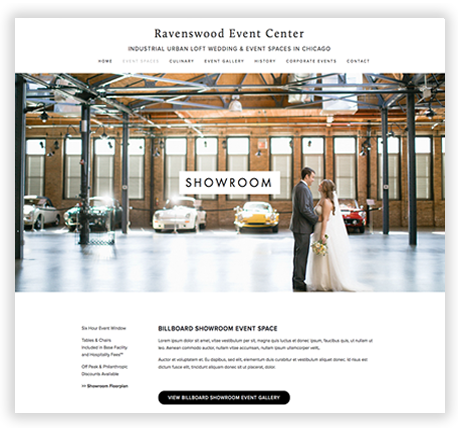 Custom SquareSpace Template in Chicago